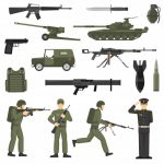 military-army-khaki-color-icons-collecton_1284-8895